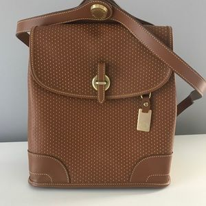 Dooney & Bourke brown leather back pack