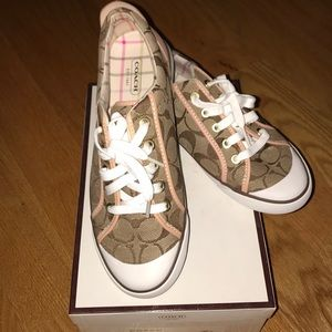Brand new coach sneakers!