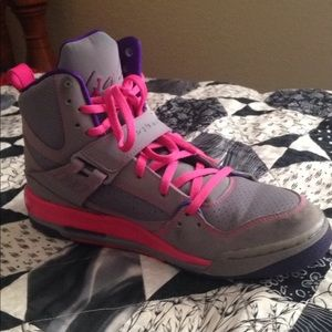 Girls flight Jordan shoes