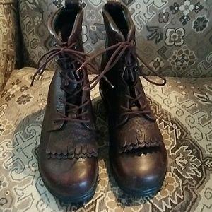 Dansko brown roper boots 37