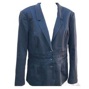 H&M Black Blazer Size 12