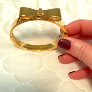 Kate Spade Gold bracelet.