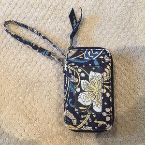 Vera Bradley wristlet wallet, hold iPhone