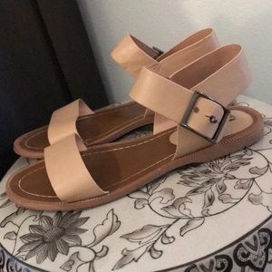 Charles David Nude Sandals