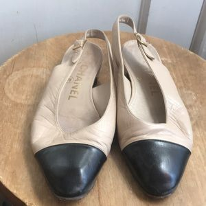 Chanel Vintage Flats