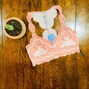 NWT Free People Intimately Lace Bralette - S