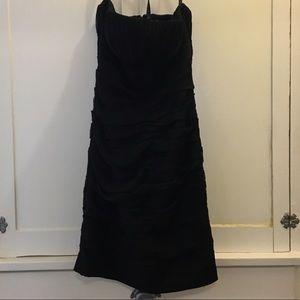 Bill Levkoff Black Mini Strapless Semi-Formal 10