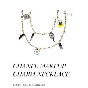 Coming Soon: CHANEL Rare Pearl Charm Necklace