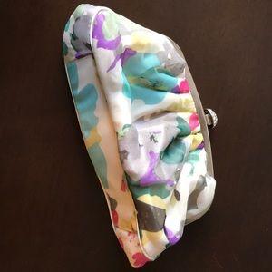 Floral clutch w strap (if desired)