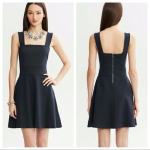 Milly Collection x Banana Republic Navy Dress