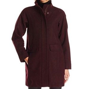 Like new! Vince Camuto Boyfriend Cocoon Wool Coat