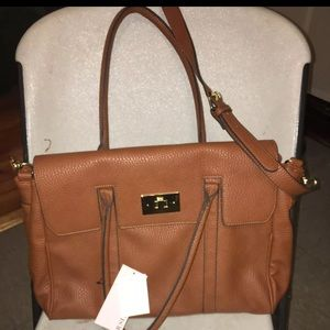Just Fab Brown Purse