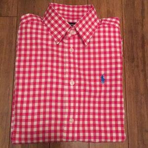 Ralph Lauren Gingham Shirt Sz. 2