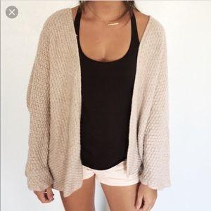 Brandy Melville}• Caroline Wool knit cardigan