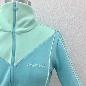 Adidas Originals Zip Up Pastel Track Jacket!