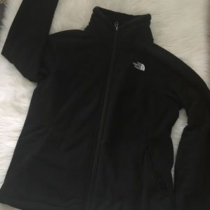 North Face Black Fleece Jacket