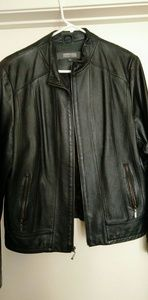 XL Kenneth Cole Leather Jacket Women's - used