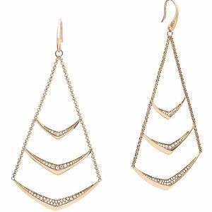 👸🏻 NWT Michael Kors Pavé Chandelier Earrings