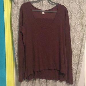 Free People Brown Thermal