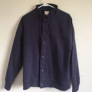 Brandy Melville turtleneck zip up jacket