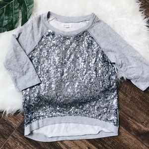 Urban Outfitters • Silence + Noise Sequin Sweater