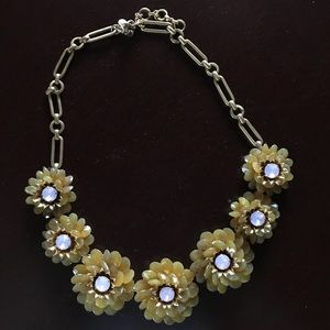 J.Crew statement flower necklace
