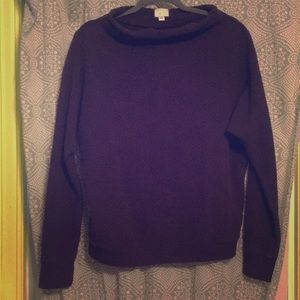 Anthropologie Purple Sweatshirt