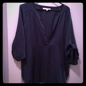 Blue/gray blouse from Loft