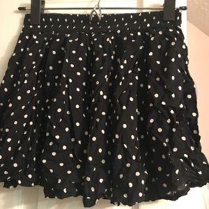 Brandy Melville polka dotted skirt