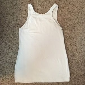 Long fitted tank
