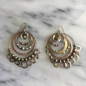 Circle ⭕️ in circle ⭕️ Earrings