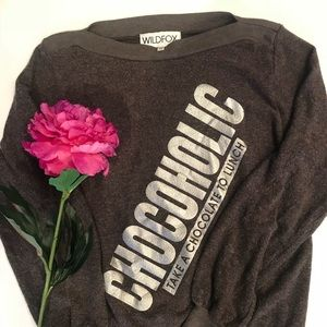 Wildfox Chocoholic Sweatshirt