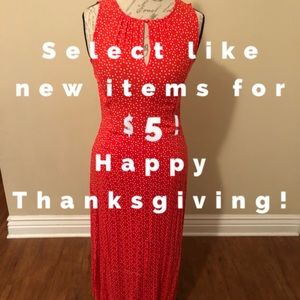 Hot items for $5!! Happy Thanksgiving!!