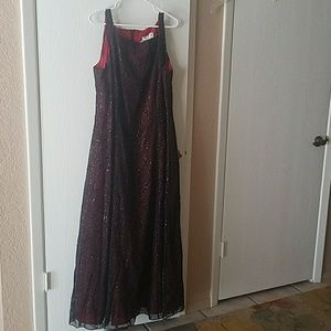 Betsy & Adam long formal dress