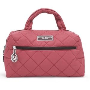 Henri Bendel Quilted Cosmetic Case 👛