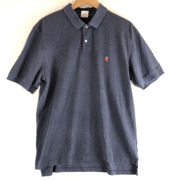 Brooks Brothers Shirts Men Polo Shirt Sheep Logo Cotton Poshmark
