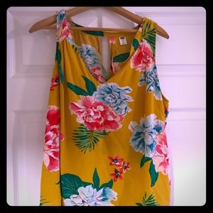 Old Navy Tropical Sleeveless Top
