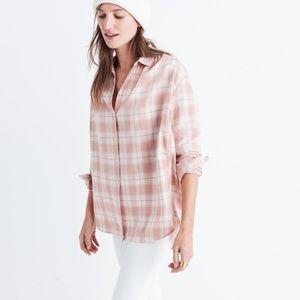 Madewell central long-sleeve shirt