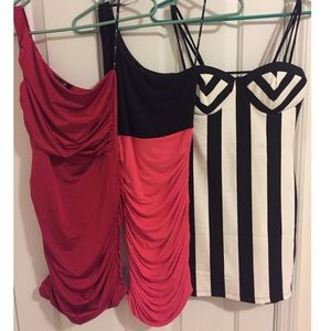 *~Bundle~* 3 Bodycon Dresses (size Small)