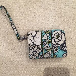 Vera Bradley wristlet wallet, holds iPhone