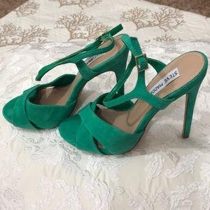 Steve Madden Suede High Heel Sandals