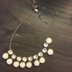 Jcrew crystal necklace