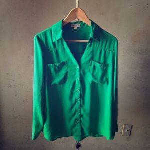 Green Portofino Shirt Large