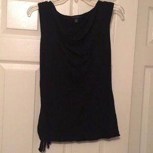 Banana Republic cowl neck top with tie side