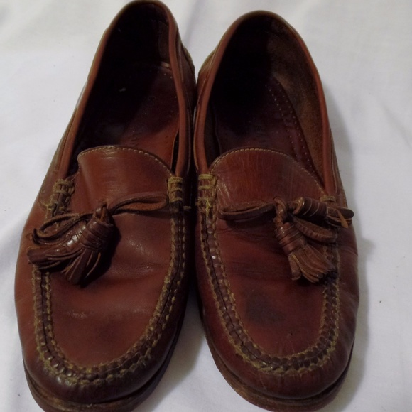 478115360eb Cole Haan Other - Cole Haan Country Brown Leather Tassel Loafer 11