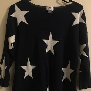 Old Navy star sweater