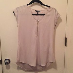 🆕 Express Gray/Taupe Top