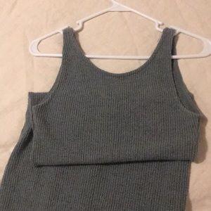 Zara Tank Sweater Dress