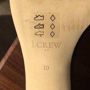 J. Crew Shoes - J. Crew high heel leather ankle strap sandals sz10