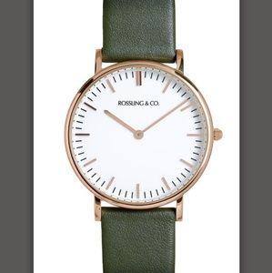 Rossling & Co. 36mm watch